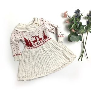 Janie and Jack Christmas Sweater Dress